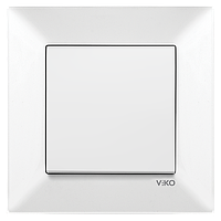 Выключатель 1-й Vico Meridian белый