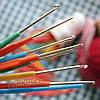 Крючок для вязания с пластиковой ручкой, 1,5 мм
