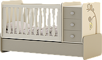 Детская кроватка-колыбель Лимпопо
