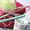 Крючок для вязания с пластиковой ручкой, 3,0 мм