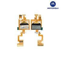 Шлейф для Motorola V180, межплатный, с компонентами, с маленьким дисплеем (оригинал)