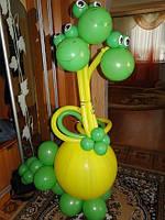 Дракон из воздушных шариков