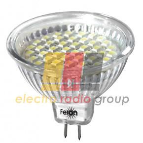 LB-24 MR16 G5.3 230V 3W 44LED 240Lm 4000K, матовая Светодиодная лампа