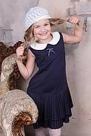 Стильный школьный сарафан для девочек, фото 1