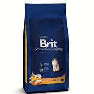 Brit Premium Adult Chicken.Для взрослых кошек, с курицей, 1,5 кг