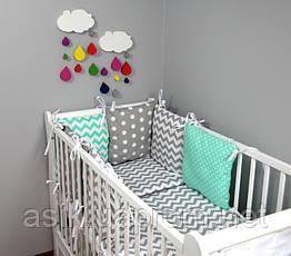 Набор детской постели с модульной охранкой №13