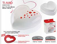 Набор силиконовых форм TI AMO (170х164 мм h 63 мм и штамп для бисквита) Silikomart