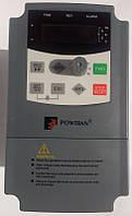 Частотный преобразователь PI8600 R75G1 POWTRAN 0,75кВт, 220В однофазное питание