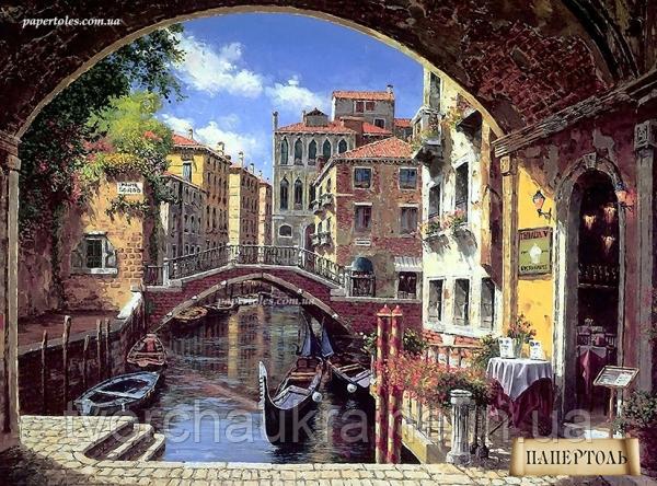"""Набір для створення об'ємної картини з паперу """"Венеція"""""""