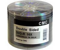 Диск CMC Magnetics DVD+R 9,4 GB 16x, Double sided, Bulk/50