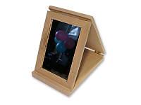 Деревянная заготовка - Зеркало складное, размеры 23x14x4 см, 1 шт