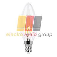 LB-58 C37 230V 4W 400Lm  E14 4000K Светодиодная лампа