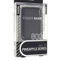 Портативный аккумулятор Power Bank Remax Pineapple 8000mAh
