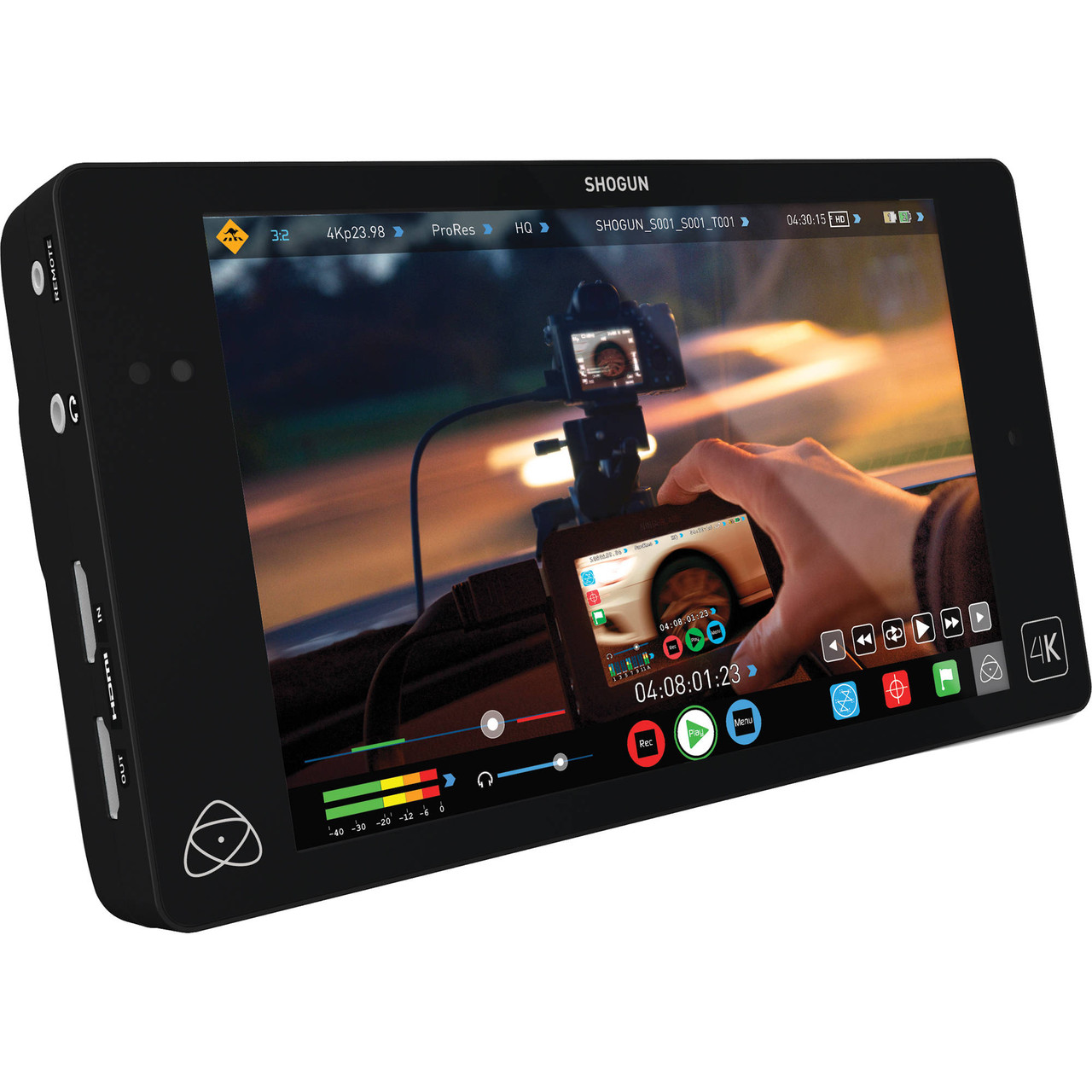"Рекордер Atomos Shogun 4K HDMI/12G-SDI Recorder and 7"" Monitor (Full Version) (ATOMSHG001)"