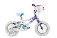"""Детский велосипед Giant Lil Puddn 12"""" белый/фиолетовый (GT)"""