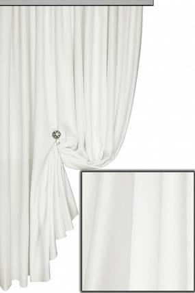 Ткань Софт-велюр  Белый, фото 2