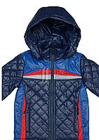 Куртка весеняя для мальчика на одинарном силиконе