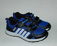 Кроссовки для мальчиков Fieerinni цвет сине-черный р.31-36 легкие, выносливые, не парят