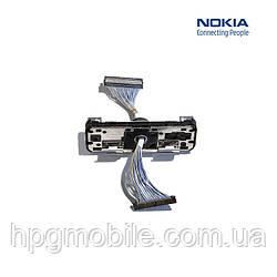 Шлейф для Nokia 3250, межплатный, с поворотным механизмом (оригинал)