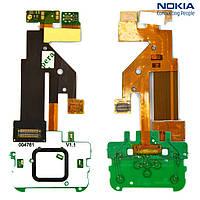 Шлейф для Nokia 5610, межплатный, с компонентами, без камеры, с верхним клавиатурным модулем (оригинал)