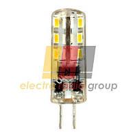 LB-420  AC/DC12V 2W 24leds G4 4000K 160lm Светодиодная лампа