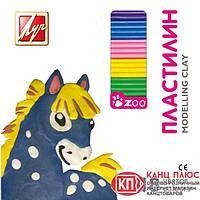 """Луч Пластилин """"Зоо"""" 18 цветов, 243г, мини 20С1358-08 арт.540271"""