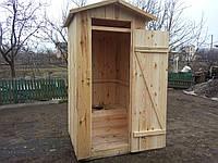 Туалет для дачи, дачный туалет из дерева, c нашей доставкой по Украине