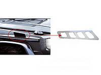 Хром накладки на воздухозаборники капота Mercedes G500 1979-2012