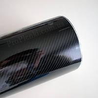 Карбоновая пленка 6D SCORPIO Premium (черная)