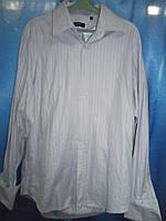 Рубашка под запонки мужская Boss