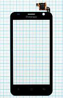 Тачскрин сенсорное стекло Prestigio MultiPhone 3450 Duo Black