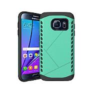 [ Чехол-накладка Samsung Galaxy s7 ] Яркая накладка ТПУ на самсунг бирюза