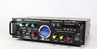 Усилитель  AMP 339, мощный усилитель звука amp, усилитель мощности звука, цифровой радиоприемник+караоке