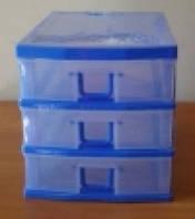 Комод пластиковый канцелярский (3 ящика) Турция