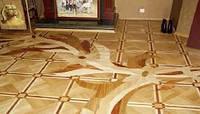 Облицовка пола плиткой усложненной формы