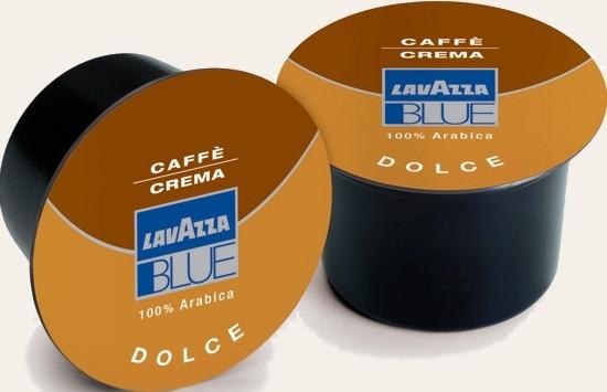 Кофе в капсулах Lavazza BLUE CREMA DOLCE 100 шт., Италия 100% Арабика