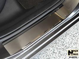 Накладки на пороги Premium Kia Cerato III 2013-