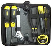 Набор инструментов  7 ед. Stanley Zipper Wallet (пассатижи, ключ разводной, отвертка PH2, отвертка S