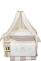 """Детский постельный комплект """"Teddy""""  8 элементов с вышивкой, фото 1"""