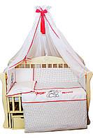 """Детский постельный набор """"Мышка Микки"""" тм """"Baby Brok"""", 8 элементов, фото 1"""