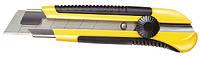 Нож 25мм сегментированое лезвие 180мм серия DynaGrip, фиксатор, металическая направляющая (блистер)(, фото 1