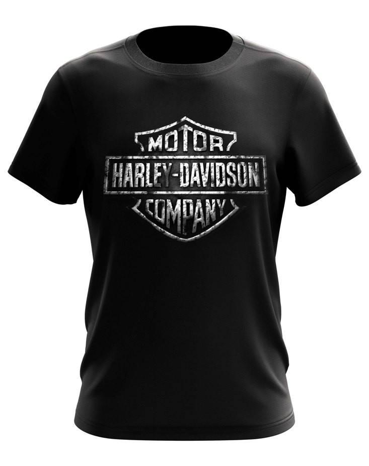Футболка с принтом Harley-Davidson