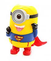 Портативная акустическая колонка Minions Миньон Superman FQ №7
