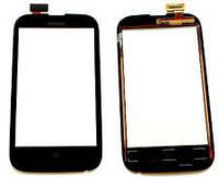 Сенсорное стекло Nokia Lumia 510, N510 черное
