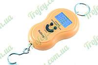 Электронные весы (кантер) 45 кг желтые