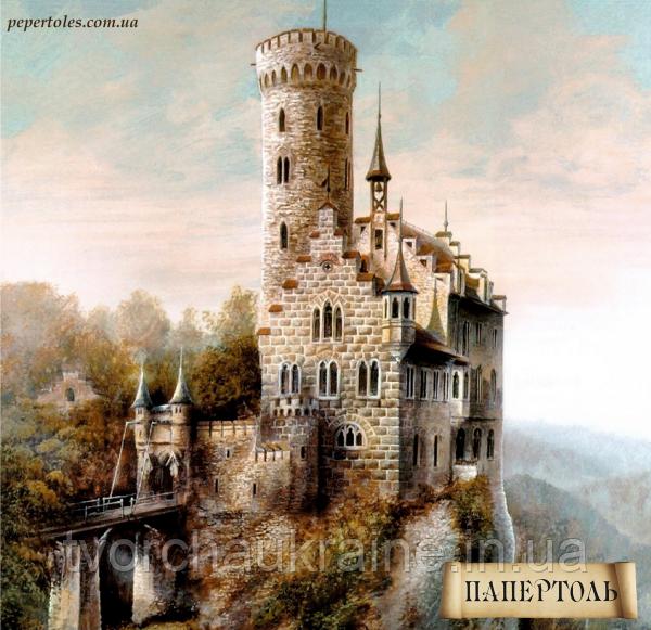 """Набір для створення об'ємної картини з паперу """"Замок"""""""