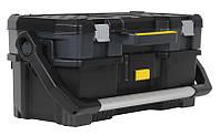 """Ящик инструментальный 67x32x28см со съемным кейсом """"Stanley"""" объем 59 л, нагрузка 18 кг, фото 1"""