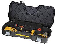 Ящик инструментальный для электроинструментов 61 x 11 x 33 см с металическими замками, фото 1