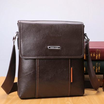 Мужская кожаная сумка. Модель 04269