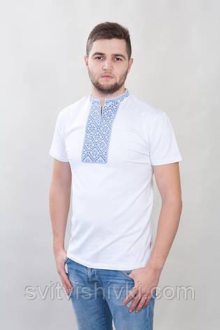 Мужская вышитая футболка, фото 2